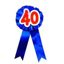 Botón divertido online-10 unids de nuevo 40 broche cinta flor insignia mujeres adultas hombre cumpleaños celeration botón diversión feliz cumpleaños fiesta evento regalos divertidos