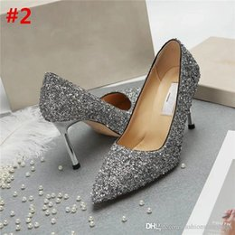 Wholesale high heel shoes leopard - 2018 Fashion Ladies Jimm FC Choo Leather Nude Leopard Anouk Pumps Smoke Patent Brown Pointed Pump Shoe High Heel Heels With Box
