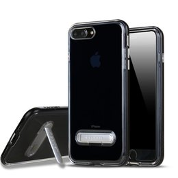 Wholesale crystals for cell phone case - SGP Spigen Crystal Hybrid with stand cell phone cases for iphone X 8 7 6 6s plus samsung s9 s8 s7 edge