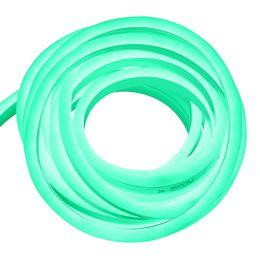 enseignes au néon de bière de lune bleue Promotion Bande LED flexible CA 220V 230V SMD 2835 LED Tube flexible au néon 120 LED IP68 Lampe de corde étanche 15 * 25mm + Prise de courant de l'UE