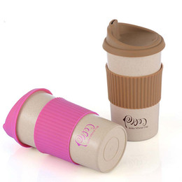 Wholesale Bpa Free Travel Water Bottle - 350 450 550ml Hot Coffee Bottle Plastic Bottle BPA free My Water Travel Car Coffee Eco-Friendly Drink