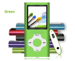Wholesale Mp4 Video Quality - 50PCS High Quality MP3 MP4 Multi Media Video Player Music Player LCD Screen Support 4G 8G 16G FM Radio without TF card