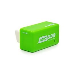 mahindra carro obd2 scanner Desconto DHL 50 PCS Verde EcoOBD2 Economia Chip Tuning Box OBD Economia De Combustível Do Carro Eco OBD2 para Benzina Carros De Poupança De Combustível 15%
