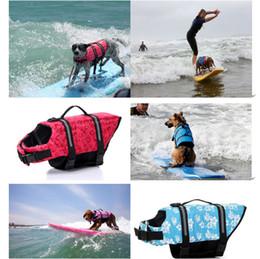 Wholesale Pet Hound - 2017 HOT SALE pet dog Swim Essential Pet Bathing Suit Life Jacket Life Vest Outward Hound Saver Swin Vest for Dog Safe to Swim