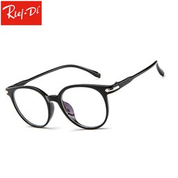 7a3ae09648 2019 vidrios de la manera del vintage claros TT347 Retro Glasses Frame  WOmen Men Fashion Clear