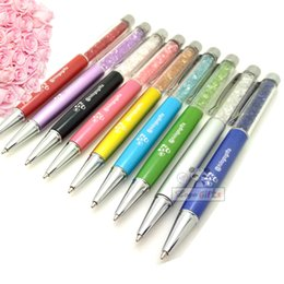 Wholesale Pens Favors - luxury wedding invitations personalized gift pen wedding favors 60pcs lot custom printed free with your date and wishes