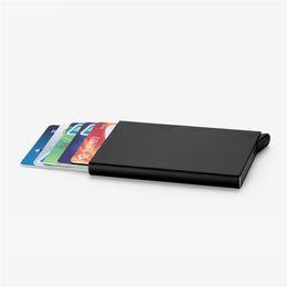 2017 Marque Élégant Titulaire D'affaires Portefeuille En Métal Porte Carte Carte De Poche Banque ID Titulaire de La Carte Cas Cadeau Titulaire de la Carte En Métal ? partir de fabricateur
