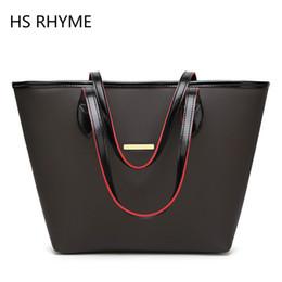 Bolso de la marca HS RHYME mujeres gran cubo bolso de hombro femenino de alta calidad de cuero artificial bolsa de moda top-handle desde fabricantes