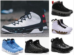 Wholesale Christmas Countdown - 2018 Mens 9 9s basketball shoes Oreo LA Anthracite Barons The Spirit 2010 release countdown pack High quality Sports sneakers Eur 41-47