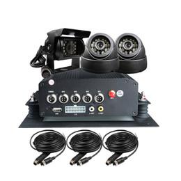Бесплатная Доставка 4 Канала H.264 I / O 2 ТБ HDD GPS Автомобиль Автомобильный Видеорегистратор Рекордер ПК Воспроизведение 3 CCTV Автомобильный Комплект Камеры для Грузовой Автобус от