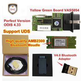Oki chips on-line-2018 Mais Novo Chip Cheio VAS 5054A + OKI chip + Mais Estável Bluetooth AMB2300 Moudle vas 5054A ODIS 4.33 Suporte UDS