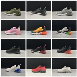 0a2e308f 2018 NIKE AIR Vapormax 270 niños zapatos para correr Negro blanco Dusty  Cactus al aire libre niño del aire niños muchachos atléticos niños  zapatillas de ...