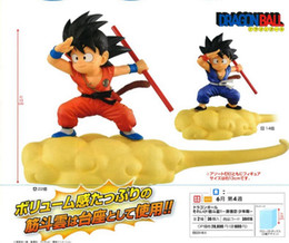 Wholesale dragon ball action - Banpresto Dragon Ball DBZ Goku Red Purple Nimbus Cloud Action Figure Figurine Figure Toys Model Dolls Brinquedos