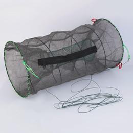 Wholesale Bait Fishing Nets - 1pc Crab Crayfish Lobster Catcher Pot Trap Fish Net Eel Prawn Shrimp Live Bait Hot Sale