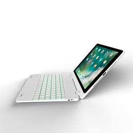 estuche antichoque ipad air Rebajas Para iPad pro 9.7 teclado inalámbrico bluetooth que lleva la cubierta del caso del soporte Ultra delgado Tablet PC Stand para iPad pro