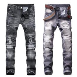 2020 joggeurs pour hommes hip-pop 2018 jeans de marque de haute qualité Men's fashion to pop pantalons serrés Le pantalon cargo jogger Senior designer jeans hip-hop promotion joggeurs pour hommes hip-pop