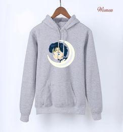 Argentina Japón Anime Kawaii Sailor Moon sudaderas con capucha rosas para niñas 2018 Hot Spring otoño sudaderas lindas para Lady Women's Harajuku sudadera con capucha cheap girls pink hoodie sweatshirt Suministro