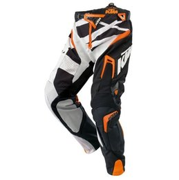 Wholesale Dirt Bike Ktm - Hot New Arrival Men for Motorcycle Dirt Bike MTB Riding KTM pants Motocross Racing Rally Pants cycling pants with hip protector dre