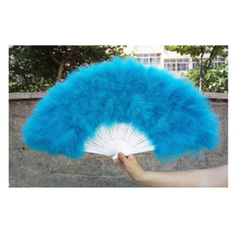 Super Big Feather Fan Turquie Performance Party Supplies 70 * 40 cm Doux Fluffy Burlesque De Mariage À La Main Costume De Déguisement Fan ? partir de fabricateur