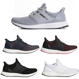 zapato running china Rebajas 2018 Ultra Boost 4.0 Running Shoes Multicolor Blanco Chino Año Nuevo Core Black Top calidad Real Boost UltraBoost Sneakers Talla 36-48