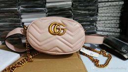 Wholesale Leather Fanny Packs - Anreisha Soft PU Leather Waist Bag For Women Female 2018 Luxury Brand Designer Fanny Pack Bag Ladies Fashion Belt Phone bags W28 W