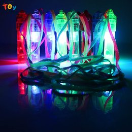Wholesale Glow Whistles - Triver Colorful flash luminous LED light up Glow whistle ktv party bar outdoor activity rescue concert noise maker kids toy Gift