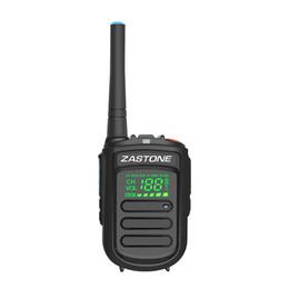 Wholesale Mini Uhf Radio - ZASTONE Mini9+ DMR Digital and Analog Mini Walkie Talkie UHF 400-470MHz 2W 1500mAh Digital Walkie Talkies HF Radio Transceiver