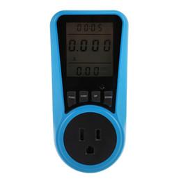 Ménage compteur de puissance rétro-éclairage LCD grand écran Wattmètre numérique prise de mesure prise prise moniteur de consommation d'électricité livraison gratuite VB ? partir de fabricateur