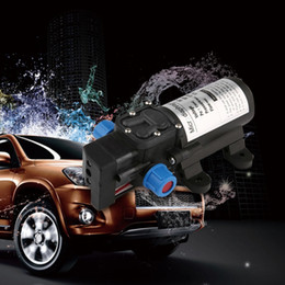 pompe de pression d'eau de cc Promotion Commutateur automatique à haute pression micro de jet de voiture de pompe à eau de diaphragme 5.5L / min micro de CC 12V 80W pour le bateau J20C22 de RV
