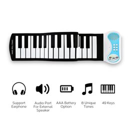 01bf7a09893 Discount keyboards kids - Wholesale Portable Soft Keyboard Piano Electric  Flexible Roll Up Digital Piano Gift