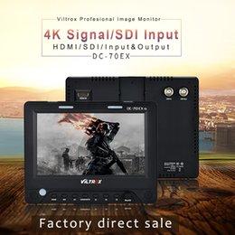Freeshipping 7 '' 4K HD Clip-on HDMI / SDI / AV-Eingang Ausgang Kamera Video LCD-Monitor-Display für Canon Nikon Pentax Olympus DSLR von Fabrikanten