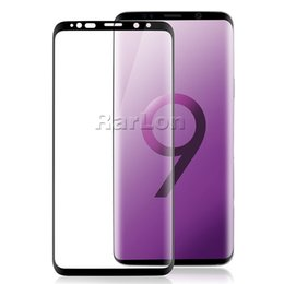 Wholesale Premium Covers - Premium 3D Curved Full Cover Tempered Glass phone Screen Protector For samsung s9 plus S8 S7 For Iphone X 10 8