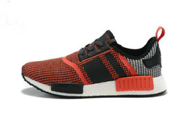 Wholesale Tennis Floor - 2018 NMD Runner R1 Men Women Running Shoes Sport Fashion Nmds Mesh Breathable Tennis Trainer Sneaker With Box