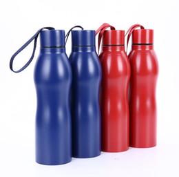 edelstahl wassertopf Rabatt Heißer Verkauf 500 ml Single Layer Edelstahl Sport Wasserflasche, Kreative Kürbis Wasserflasche Outdoor Sports Pot