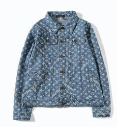 Wholesale Y Jacket - 424 Kanye West Pablo Denim Jackets Men Hip Hop Y ee zu s Tour Brand Clothing Streetwear Jeans Jackets I Feel Like Kanye