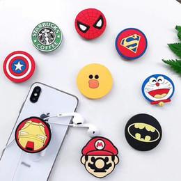 Super hero superman batman titular com suporte de telefone celular suporte exclusivo moda para iphone 7 plus 8x samsung s8 além de de