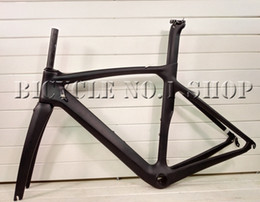 Wholesale Road Race - T800 carbon racing road bike bicycle frame custom painting mechanical DI2 available BB386 XDB shipping available 50 53 55 57