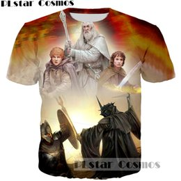 Lord rings print online-PLstar Cosmos Legolas Greenleaf Camiseta estampada Vintage Mans estampado 3D Camiseta estampada The Lord of the Rings Camiseta estampada Hombre Hipster