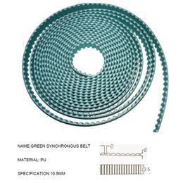 Cinghia di gomma intelligente di lunga durata Smart Home per pista Dooya Jalice o Somfy motorizzata silenziosa, cavo di acciaio incorporato da perline catena di plastica all'ingrosso fornitori