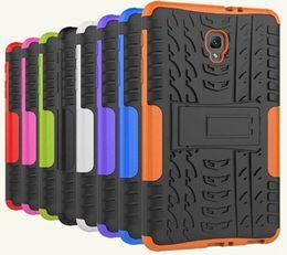 "Custodia per pneumatici Kickstand Defender per Samsung Galaxy Tab A 8.0 ""2017 T385 T380 Custodia per cellulari Dual TP TPU PC palmare ibrida Amor 70 pezzi da tavoletta d'imitazione fornitori"