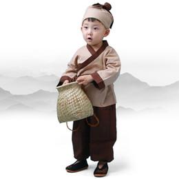 Argentina Trajes de danza tradicional china Kids Folk Ancient Hanfu Tang dinastía para la fotografía o el día del niño Ropa de la etapa Suministro