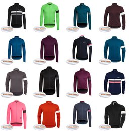 cycle jackets men Coupons - RAPHA team Cycling Winter Thermal Fleece jersey  Cycling Jacket Windproof Bicycle 763f4b14f