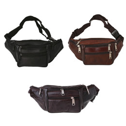 Модный ремень онлайн-THINKTHENDO New Fashion Men Waist Fanny Pack Waist Belt Bag Pouch Casual Travel Hip Purse Bags for Men Women 2018 New Portable