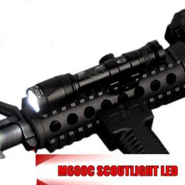 Montagem de trilho de lanterna tática on-line-Elemento Airsoft M600C Tactical SF Lanternas Versão Completa LEVOU Luz Rifle Tático Remoto Pressão 20mm Rail Mount EX072