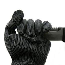 Guanti di taglio in acciaio inossidabile online-Guanti resistivi statici con taglio antiscivolo