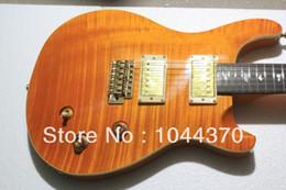 Wholesale guitar bird custom - Wholesale - Custom Shop cherry burst Beauty Birds Inlay 24th Electric Guitar OEM From China free shipping2107