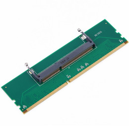 Wholesale Dimm Ram - Centechia 1 Pcs DDR3 Laptop Connector SO-DIMM to Desktop DIMM Memory RAM Connector Adapter Card