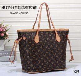 Wholesale tote bags metal handles - Women messenger Bag Women Designer Handbag Shoulder bag cross body bag Tote Bags with Bamboo handle 2018 NEW 8810