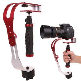 handheld dslr kamerastabilisator Rabatt Handheld Video Stabilizer Camera Steadicam Stabilizer für Canon Nikon Sony Kamera Gopro Hero Telefon DSLR DV DSL-04