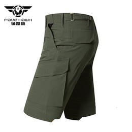Wholesale big force - Pave Hawk Lightweight Assault Army Force Tactical Shorts Men Summer Breathable Quick Dry Big Pockets TAD For Man  Shorts